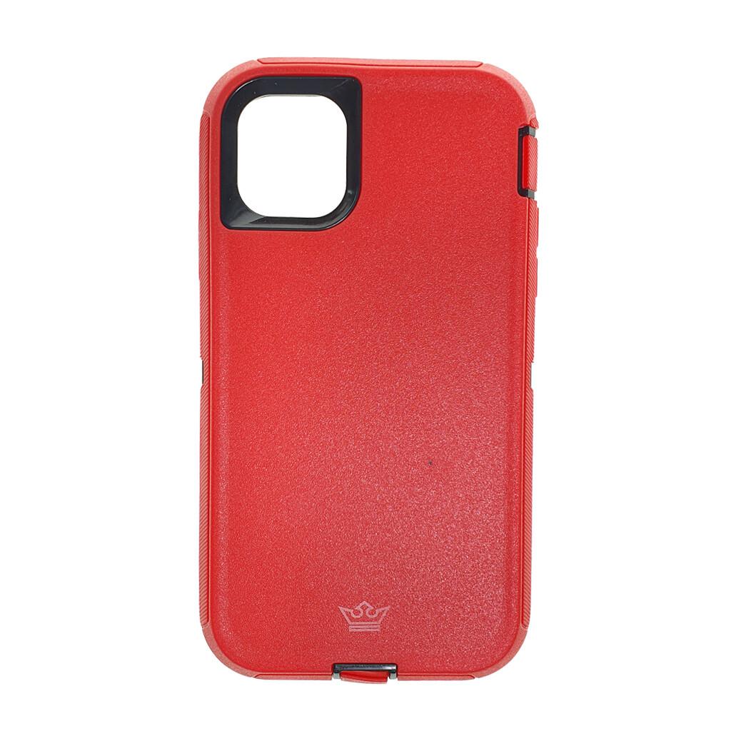 Estuche EL REY Defender  Rojo- IPHONE 11 PRO (5.8)