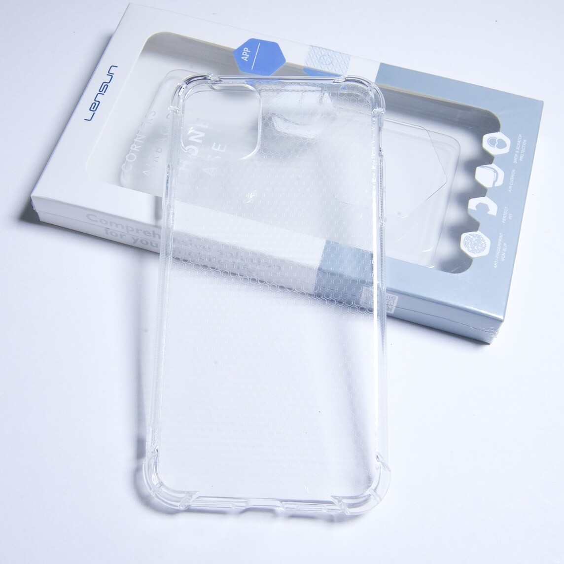 Estuche LENSUN Airbag Design Transparente  Iphone 11 Pro (5.8)