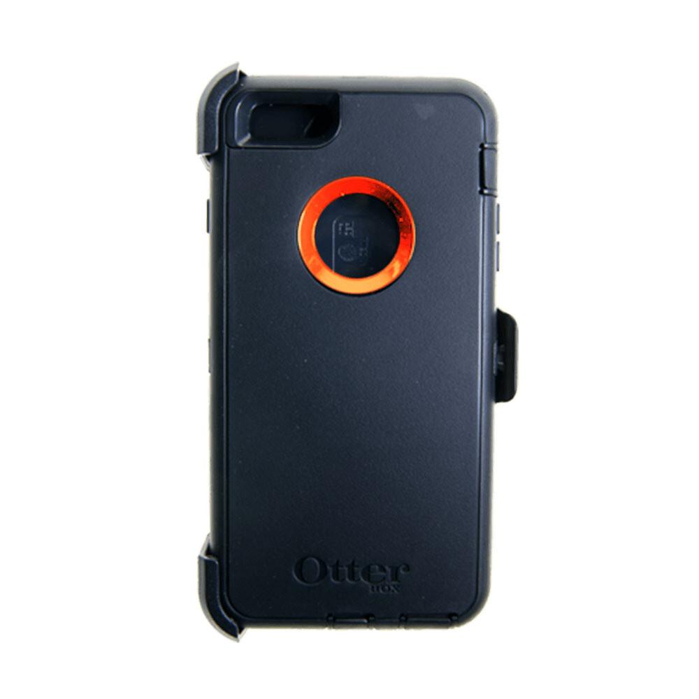 Estuche OTTERBOX Defender  Negro/Naranja - Iphone 6 Plus
