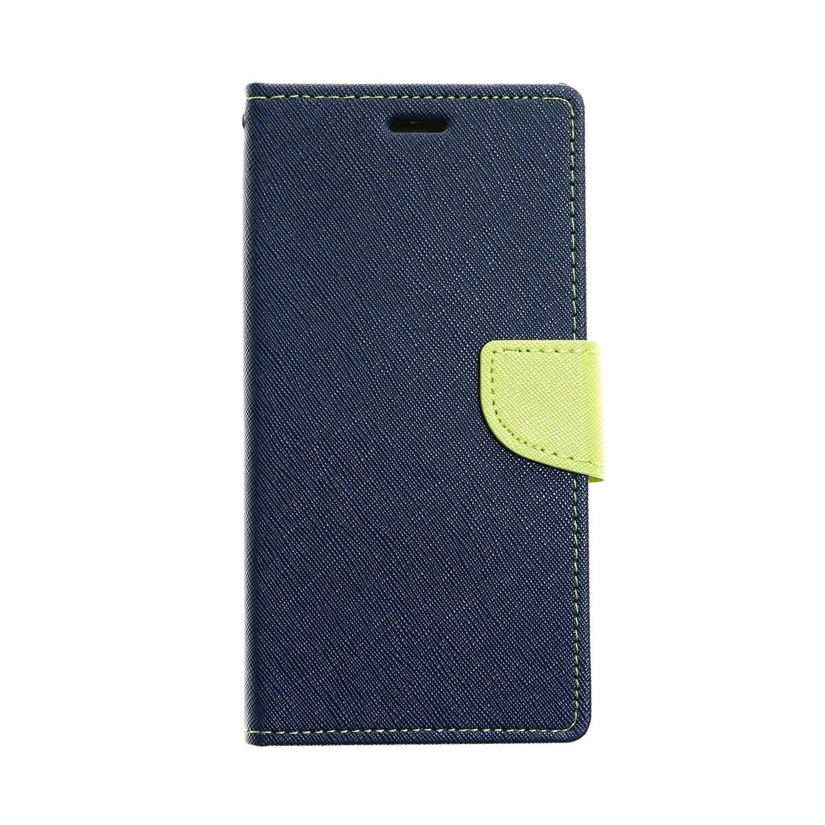 Estuche GOOSPERY Fancy Diary Azul Marino/ Verde IPHONE X   XS (5.8)