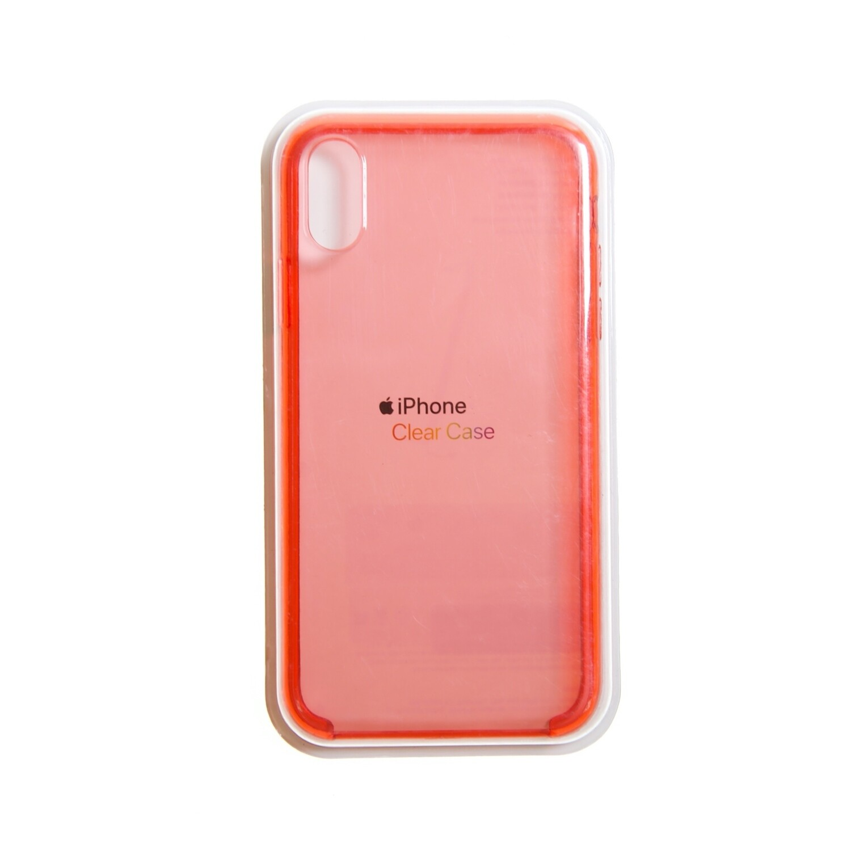 Estuche APPLE Transparente Rojo - IPHONE XS MAX (6.5)