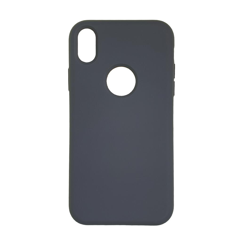 Estuche EL REY Silicon Gris - Iphone Xs Max
