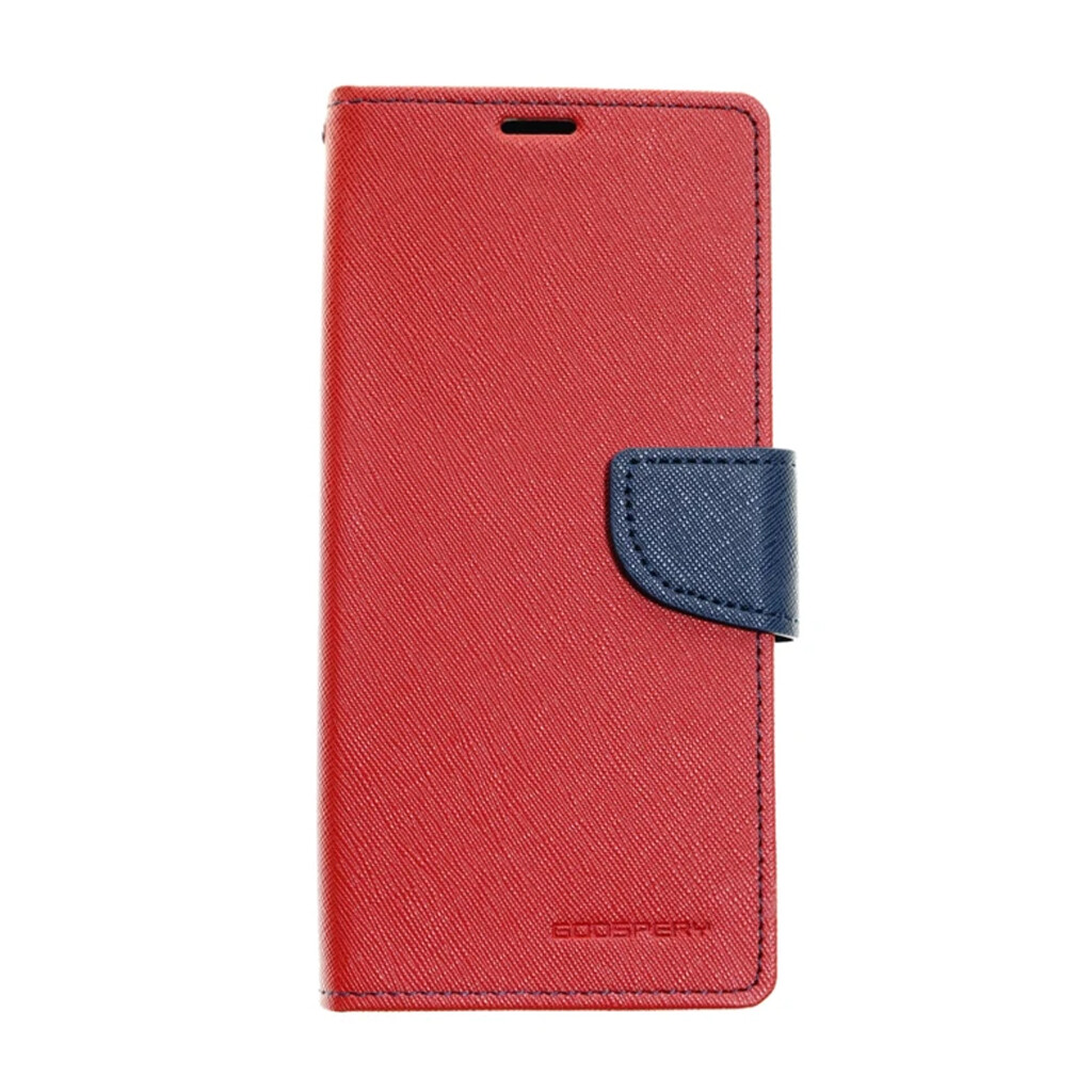 Estuche GOOSPERY Fancy Diary  - Rojo/Azul Marino SAMSUNG S10