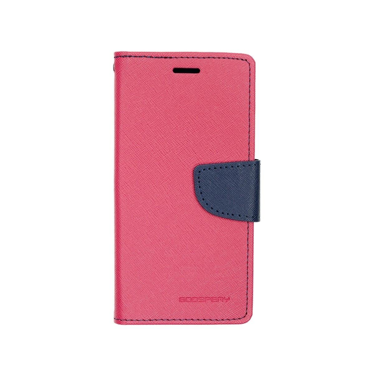 Estuche GOOSPERY Fancy Diary Fucsia/Azul Marino SAMSUNG S8