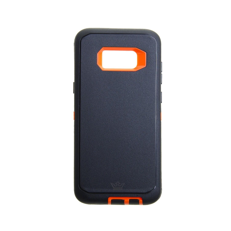 Estuche EL REY Defender Negro/Naranja - SAMSUNG S8 PLUS