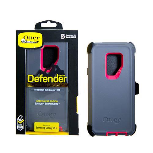 Estuche OTTERBOX Defender SAMSUNG S9 GRIS | FUCSIA