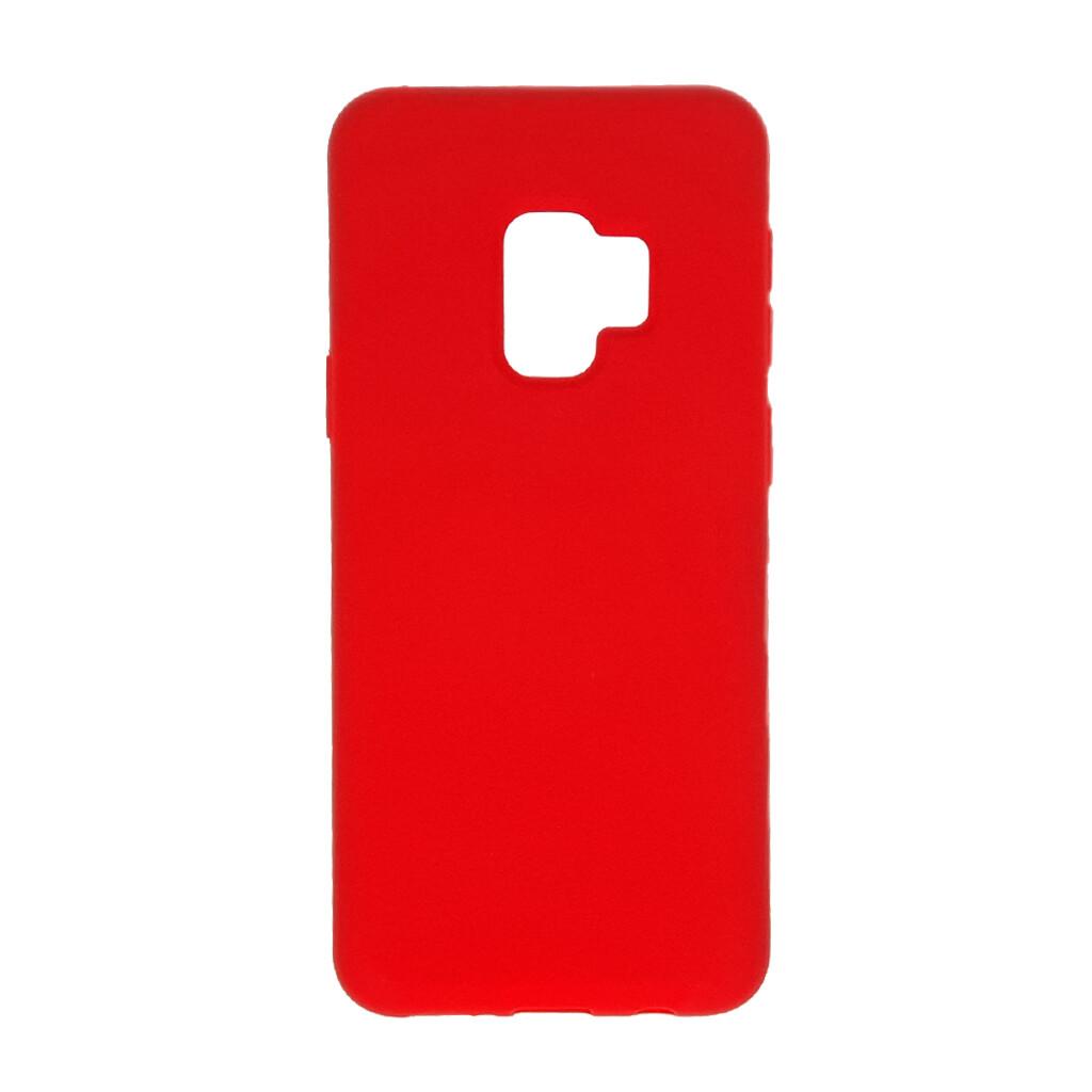 Estuche EL REY Silicon  Rojo - S9 Plus