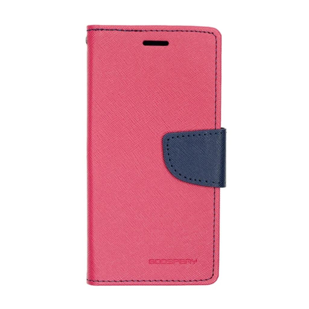 Estuche GOOSPERY Fancy Diary Fucsia/Azul Marino - SAMSUNG S9 PLUS