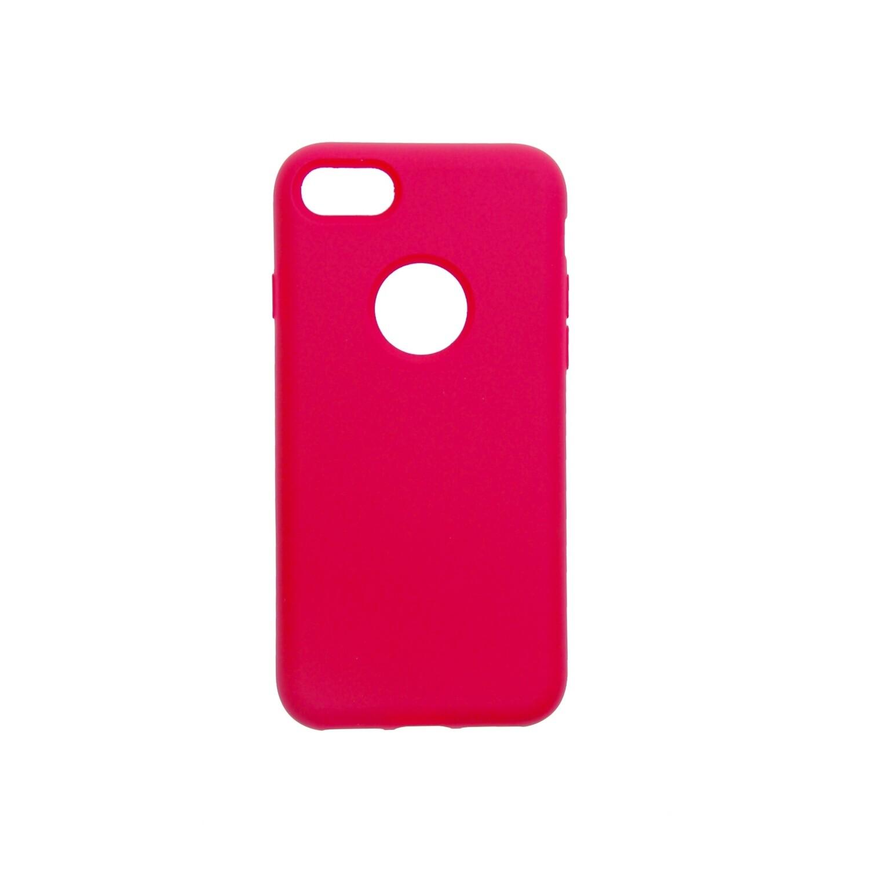 Estuche EL REY Silicon Fucsia - Iphone 7/8