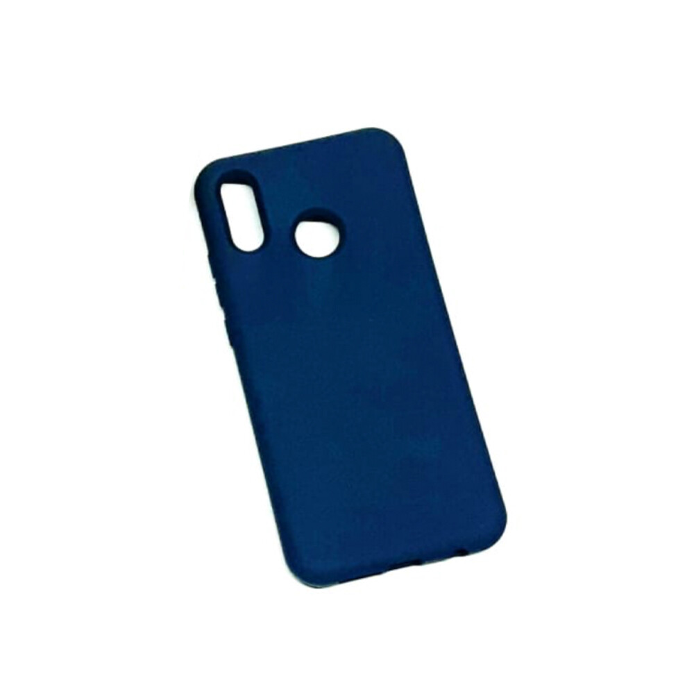 Estuche EL REY Silicon  Azul Marino - Huawei  P20 Lite
