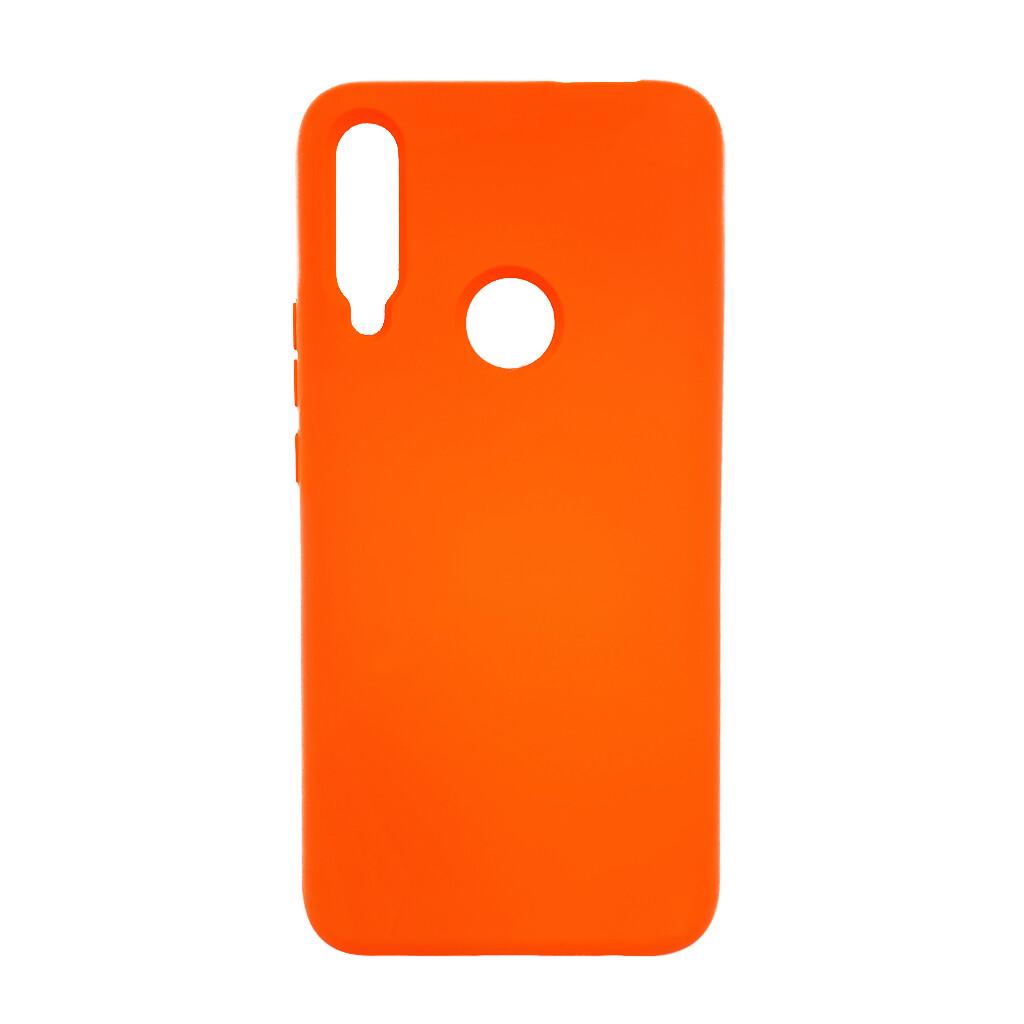 Estuche EL REY Silicon  Naranja - Huawei  Y9 Prime