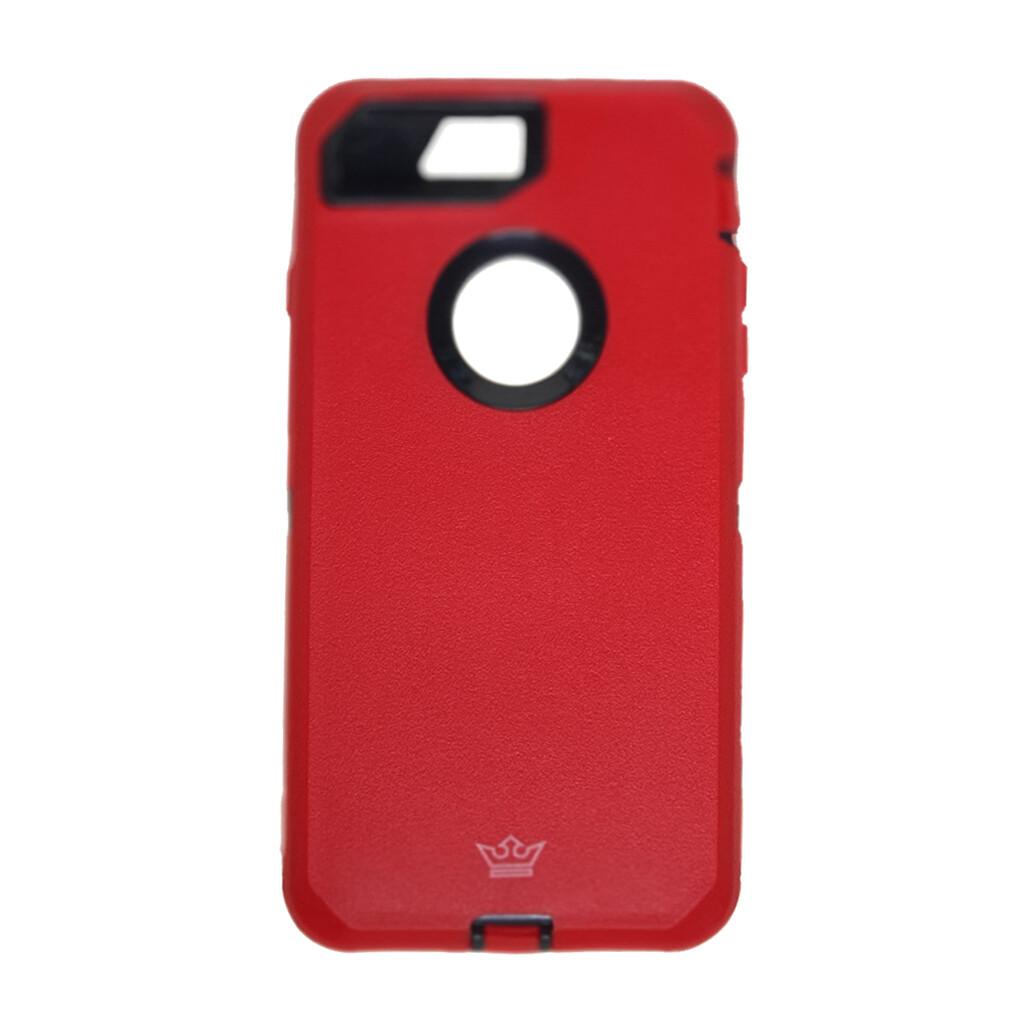 Estuche EL REY Defender Rojo IPHONE 7 | 8 PLUS