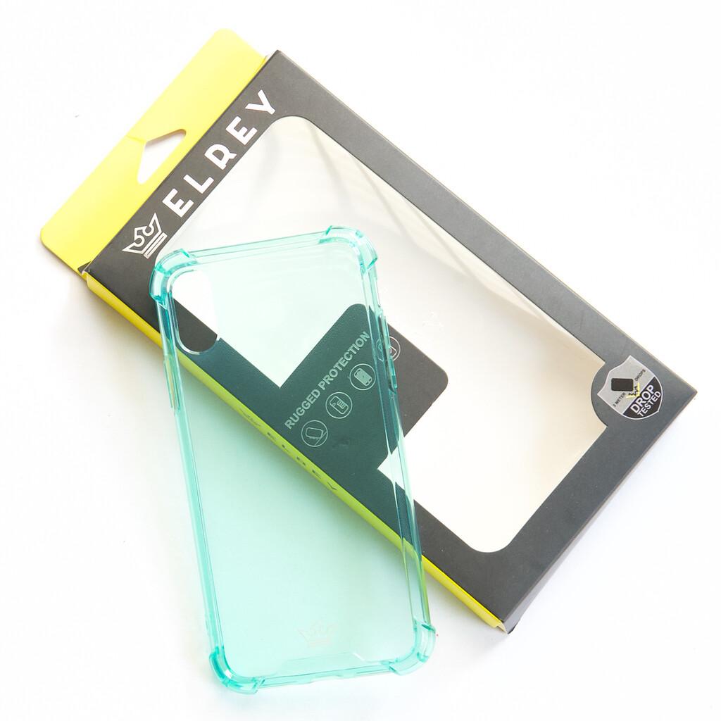 Estuche EL REY Hard Case Flexible Reforzado Menta  Iphone X - Xs