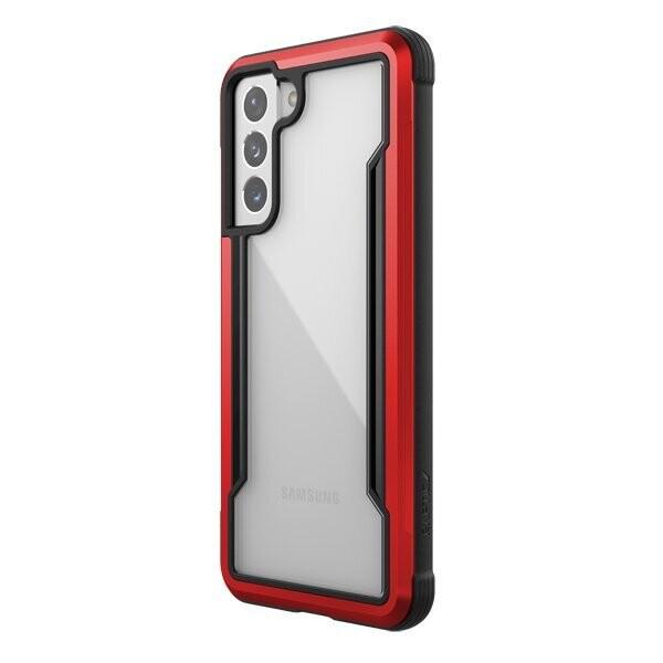 Estuche XDORIA Raptic Shield Rojo SAMSUNG S21