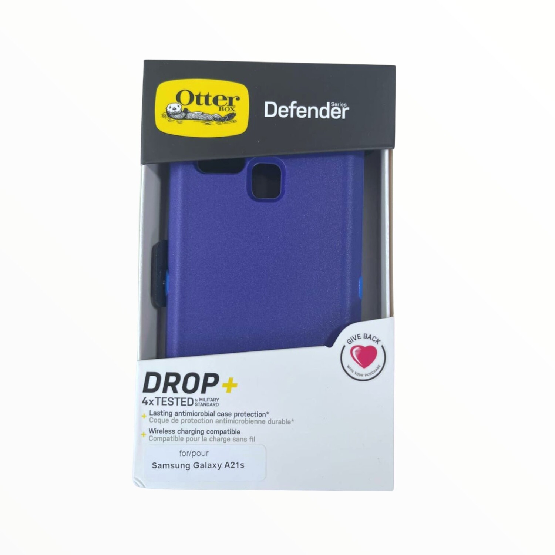 Estuche OTTERBOX Defender Azul SAMSUNG A21S