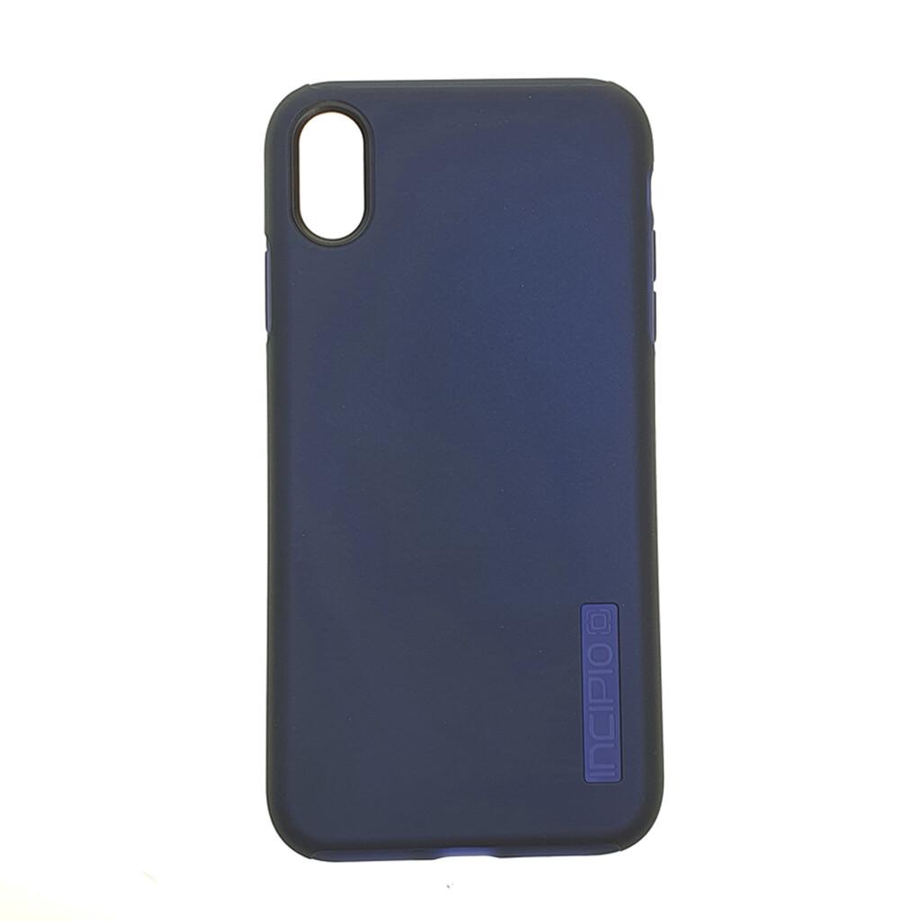 Estuche INCIPIO Dualpro Azul Marino- IPHONE XS MAX (6.5)