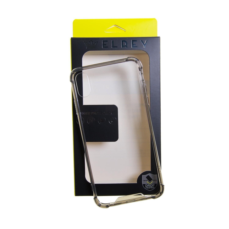 Estuche EL REY Hard Case Reforzado Gris IPHONE XS MAX (6.5)