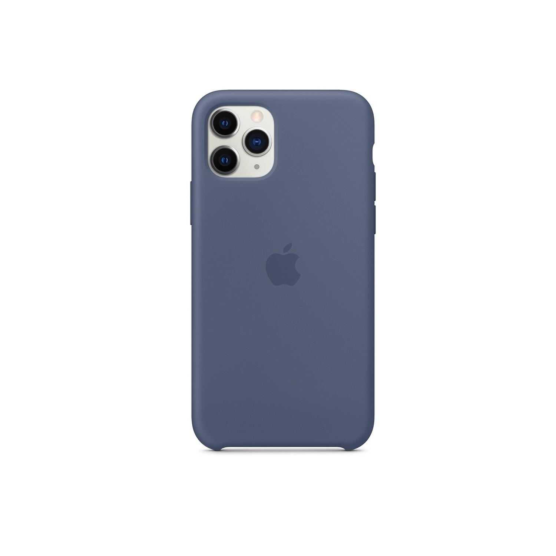 Estuche APPLE Silicon   Azul Claro  (Alaska Blue) IPHONE 11 PRO (5.8)