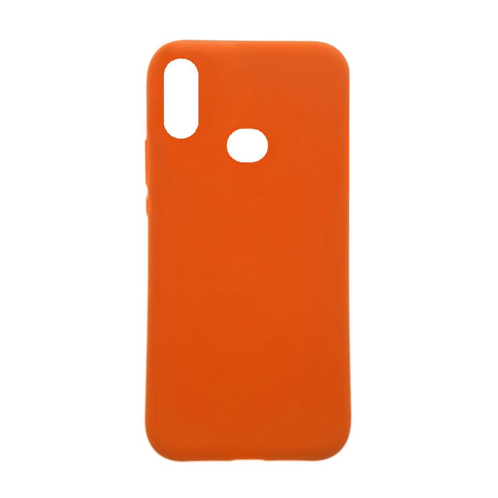 Estuche EL REY Silicon  Naranja  Samsung A10S Linea A