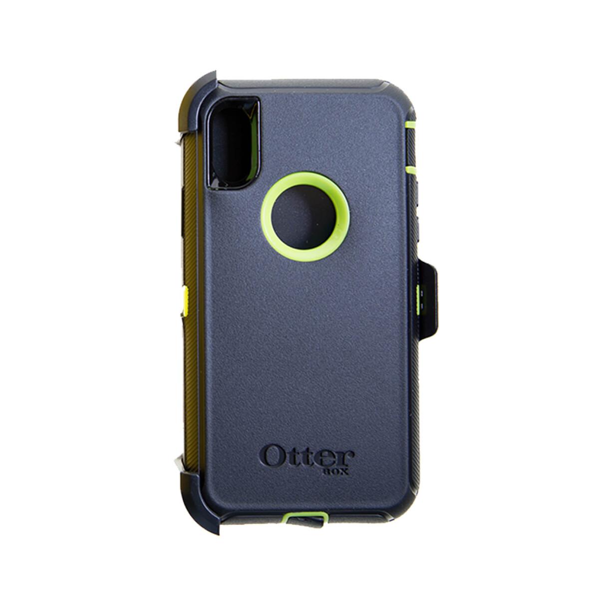 Estuche OTTERBOX Defender IPHONE X   XS (5.8) NEGRO   VERDE