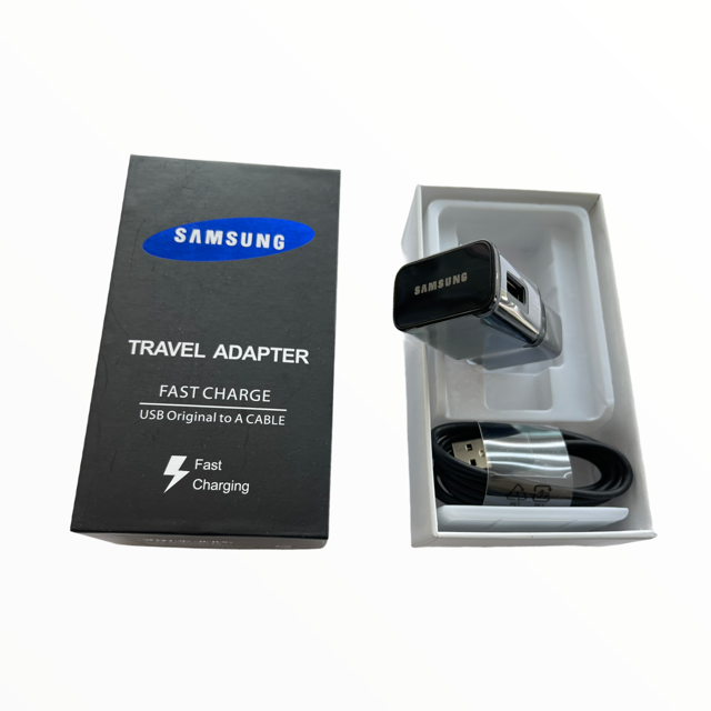SAMSUNG Kit Pared Carga Rapida + Cable tipo C con empaque samsung
