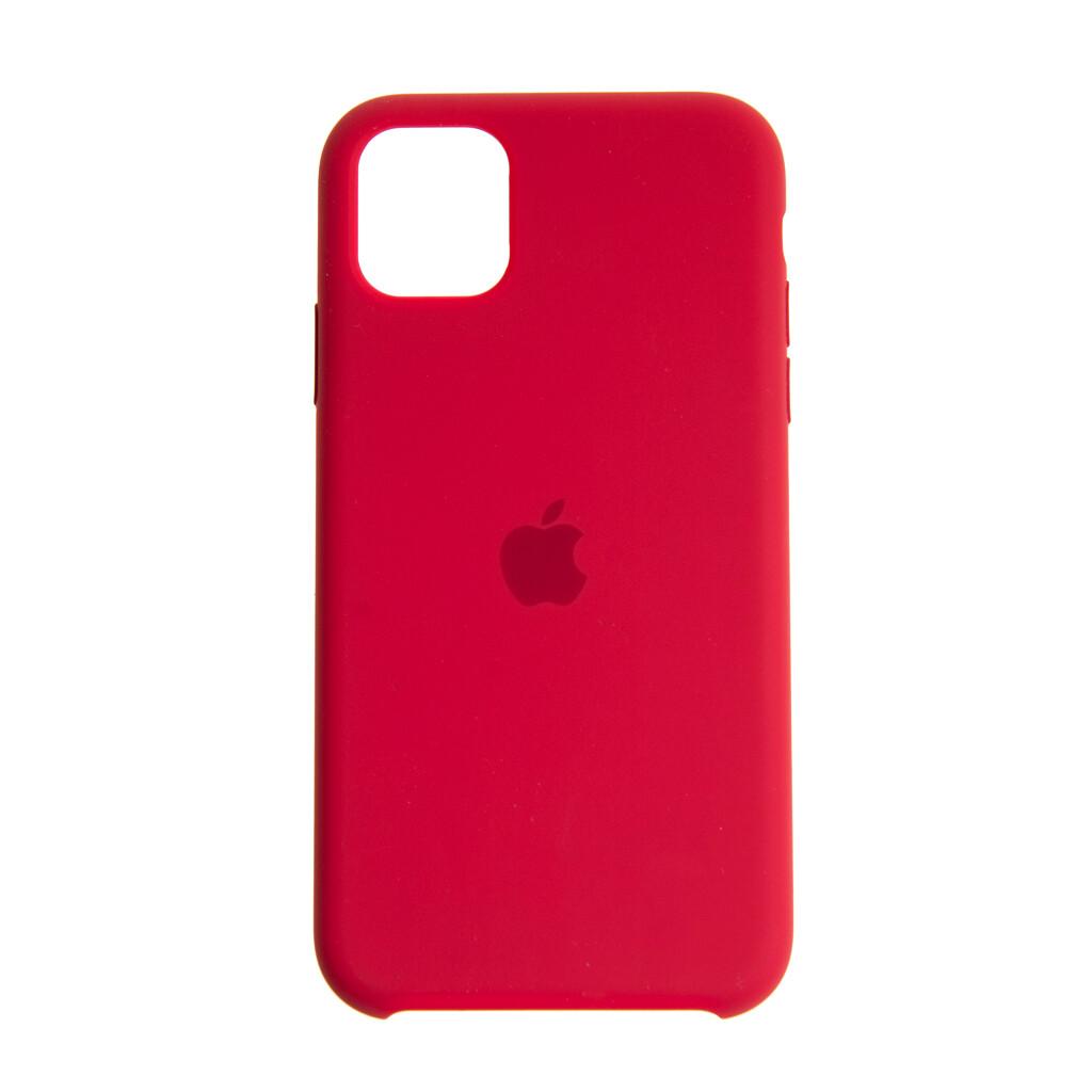 Estuche EL REY Silicon Duro - Rojo Iphone 11 Pro