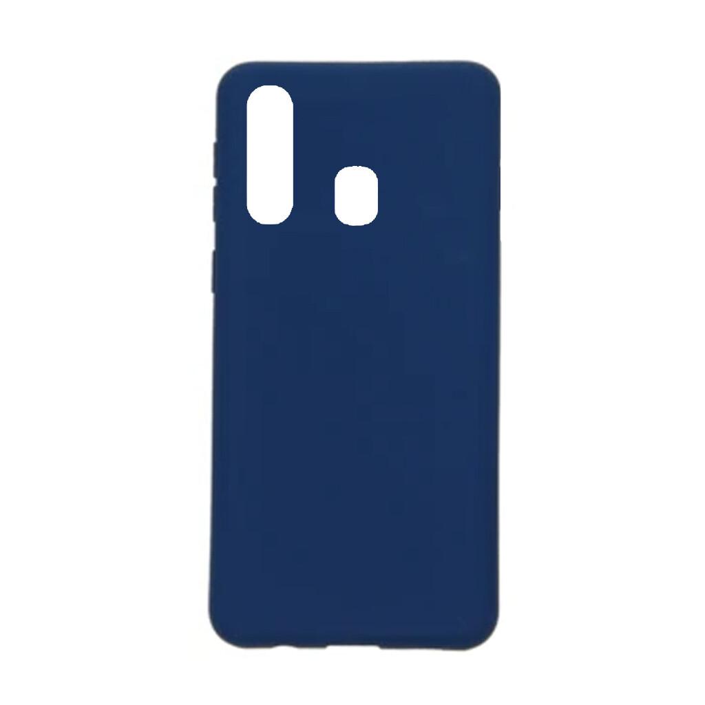Estuche EL REY Silicon Azul Marino A20S