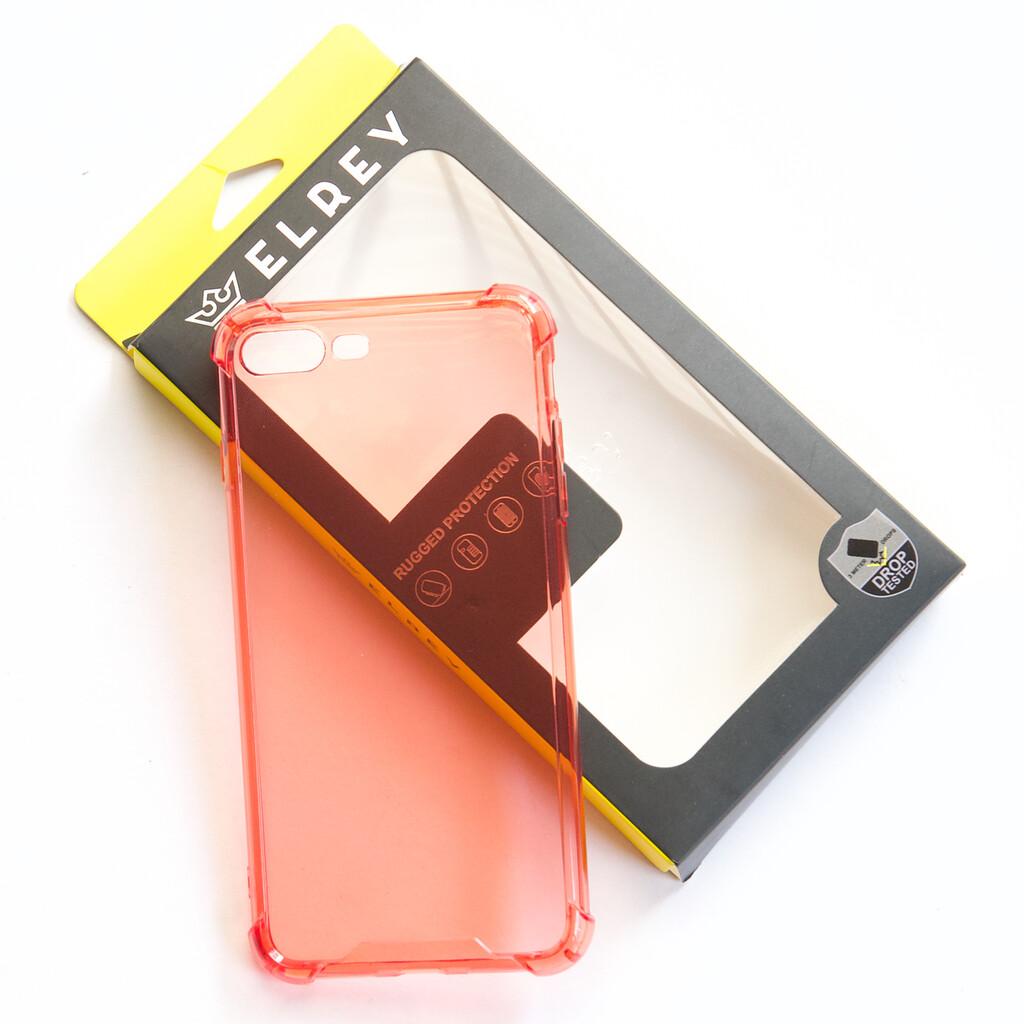 Estuche EL REY Hard Case Flexible Reforzado Rojo  Iphone 7 Plus