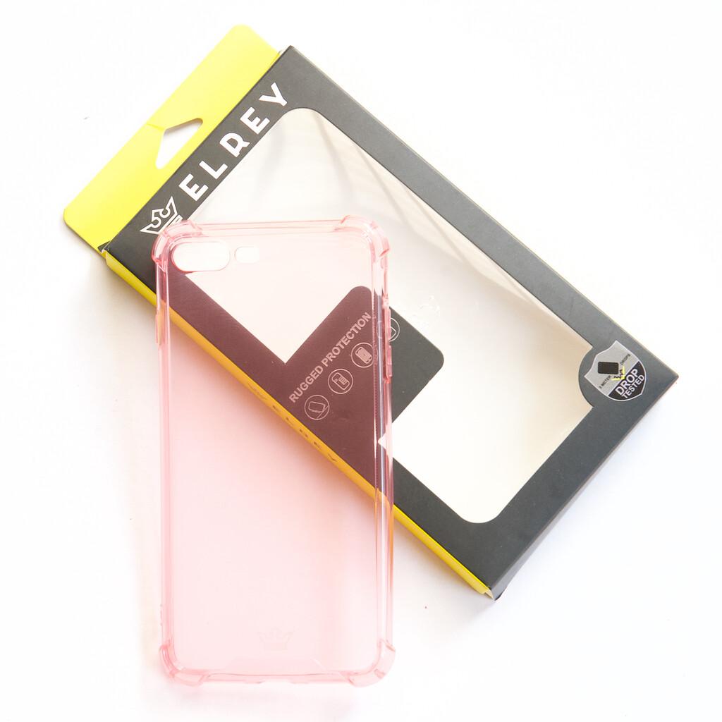 Estuche EL REY Hard Case Flexible Reforzado Rosado Iphone 7 Plus