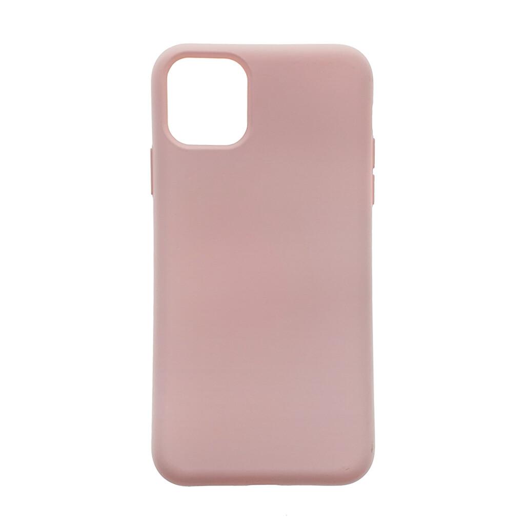 Estuche EL REY Silicon  Rosado Palido - Iphone 11 Pro Max