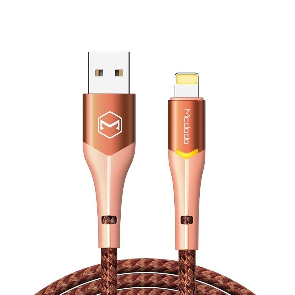 Cables MCDODO Cable Magnificence USB - Lightning 1,8 m NARANJA CA-7845