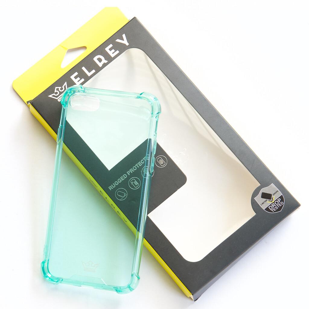 Estuche EL REY Hard Case Flexible Reforzado Menta Iphone 7