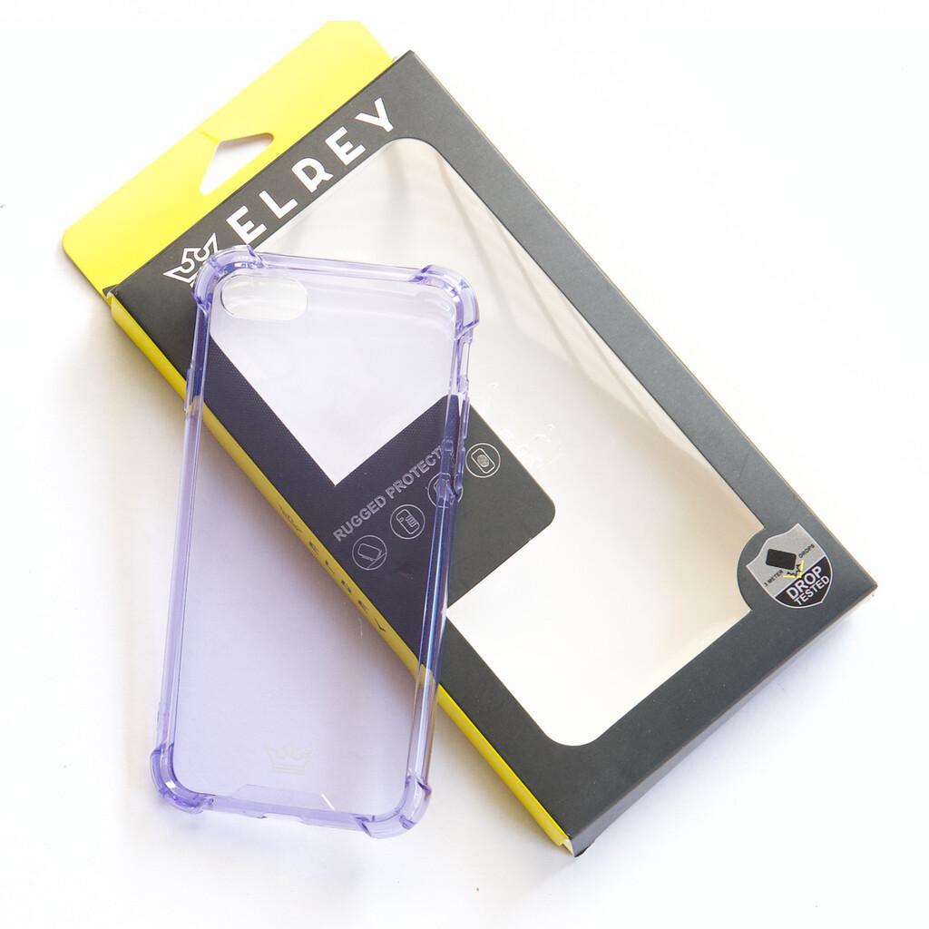 Estuche EL REY Hard Case Flexible Reforzado Morado Iphone 7