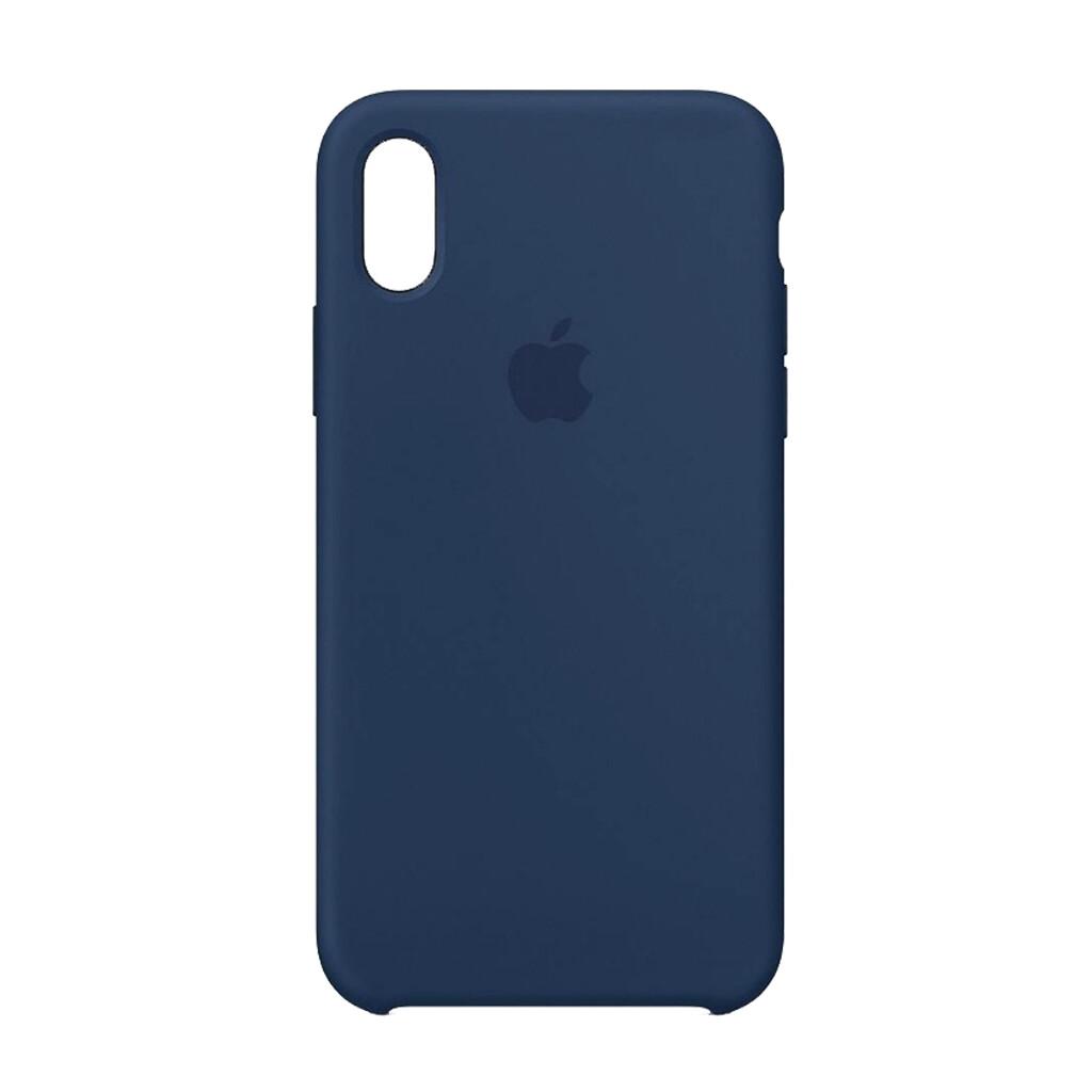 Estuche EL REY Silicon Duro Azul Marino Iphone Xs Max