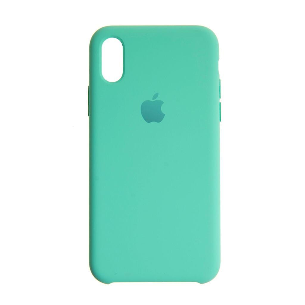 Estuche EL REY Silicon Duro  Menta - Iphone Xs