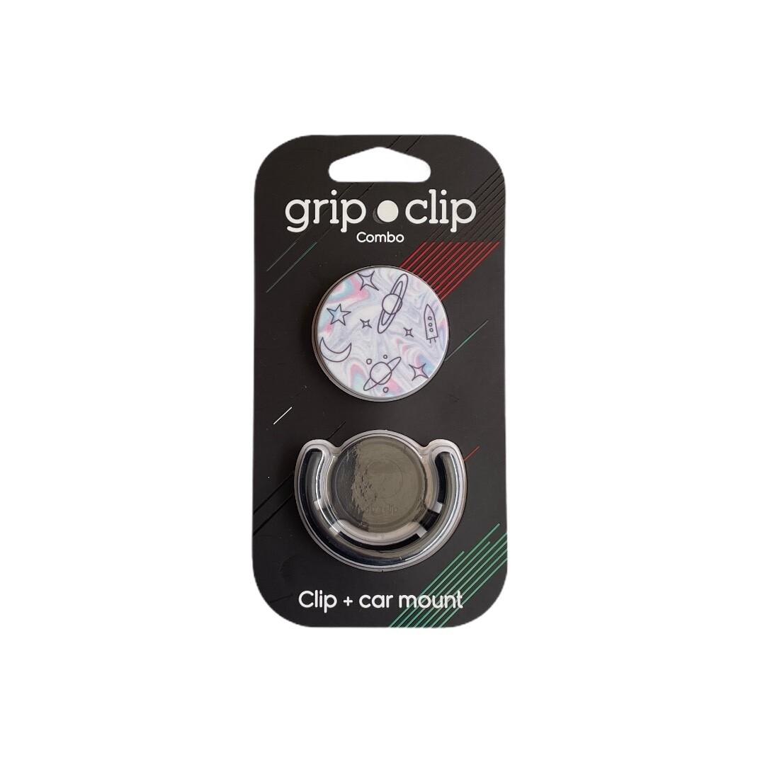 GRIP CLIP Luna y espacio