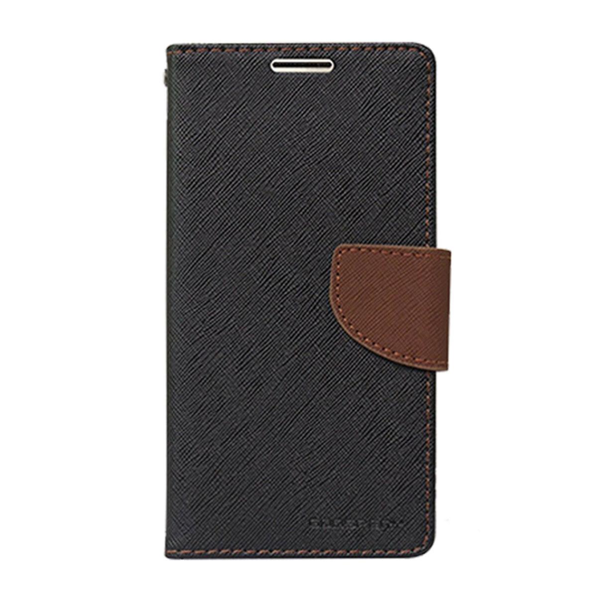 Estuche GOOSPERY Fancy Diary Negro/Cafe  - Iphone 6 Plus