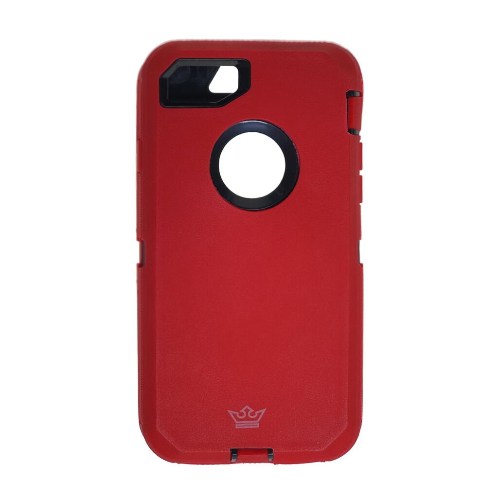 Estuche EL REY Defender Rojo- IPHONE 7 | 8 | SE 2020