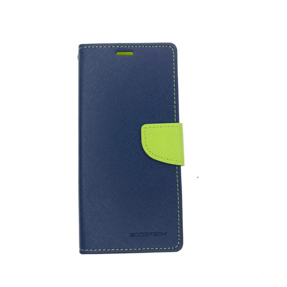 Estuche GOOSPERY Fancy Diary Azul Marino / Verde SAMSUNG NOTE 9