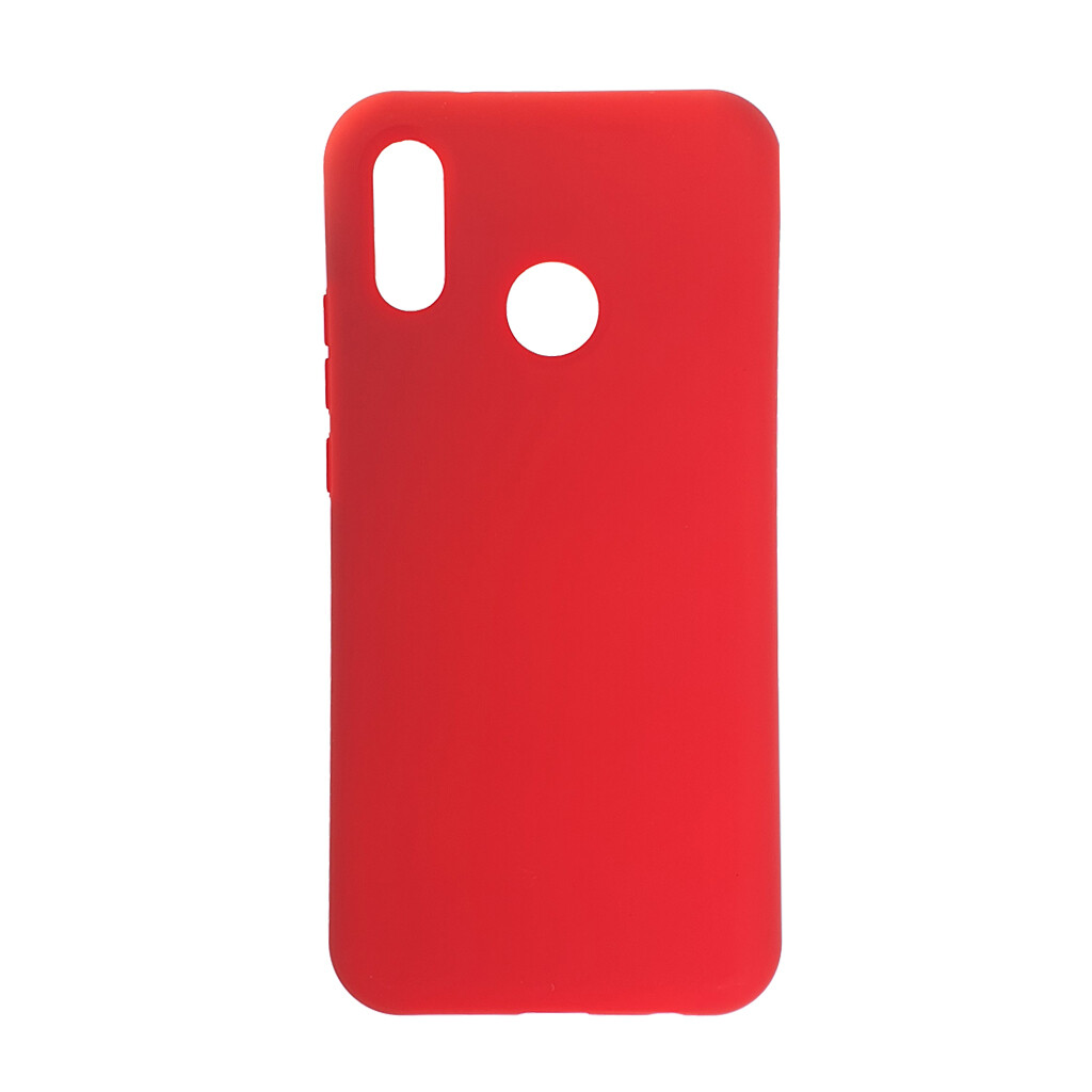 Estuche EL REY Silicon  Rojo  Huawei  P20 Lite