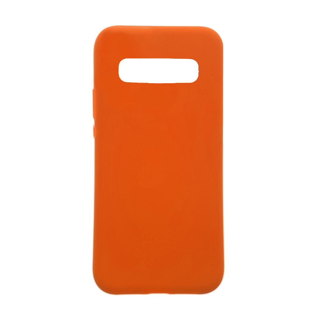 Estuche EL REY Silicon  Naranja  S8 Plus