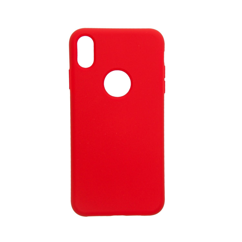 Estuche EL REY Silicon Rojo - Iphone Xs