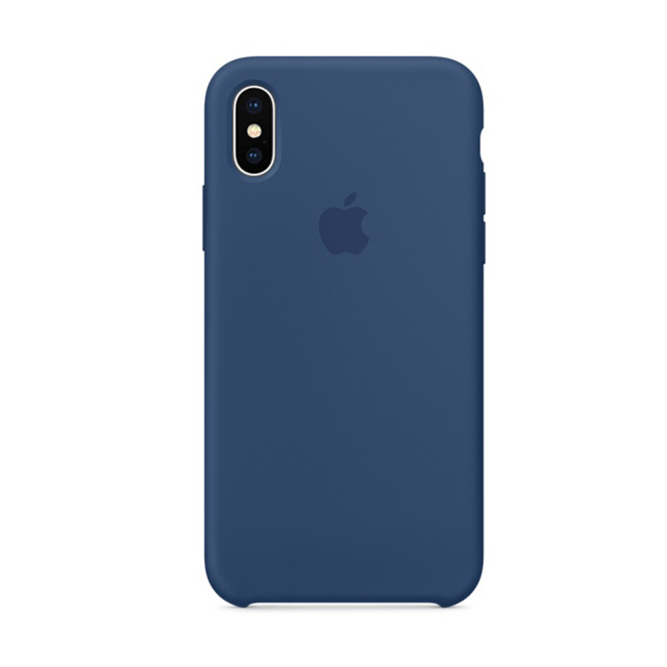 Estuche APPLE Original (Blue Cobalt) IPHONE X AZUL MARINO