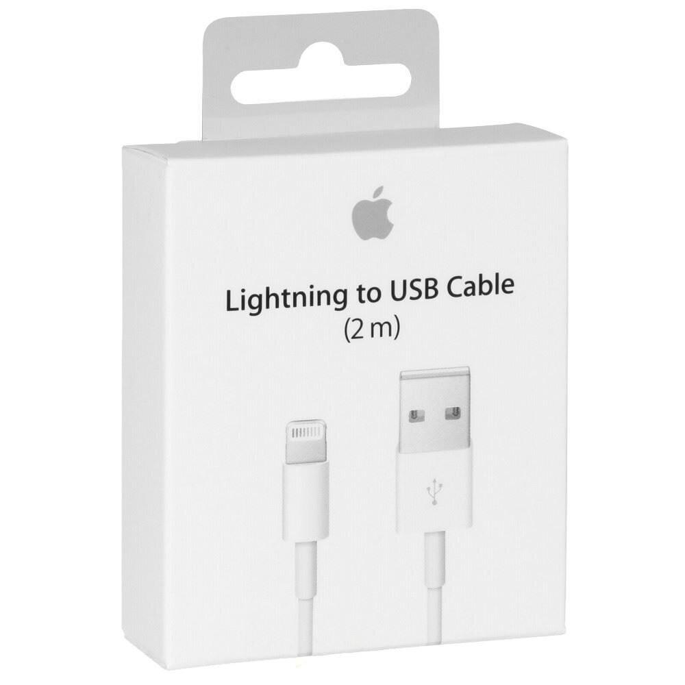Cables APPLE Lightning Original De 2 Metros Con Empaque Retail