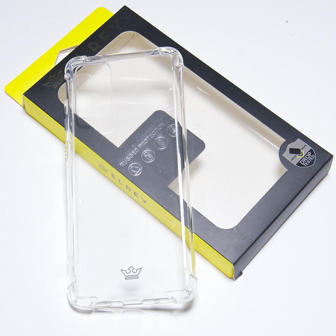 Estuche EL REY Hard Case Reforzado Transparente SAMSUNG S20 PLUS