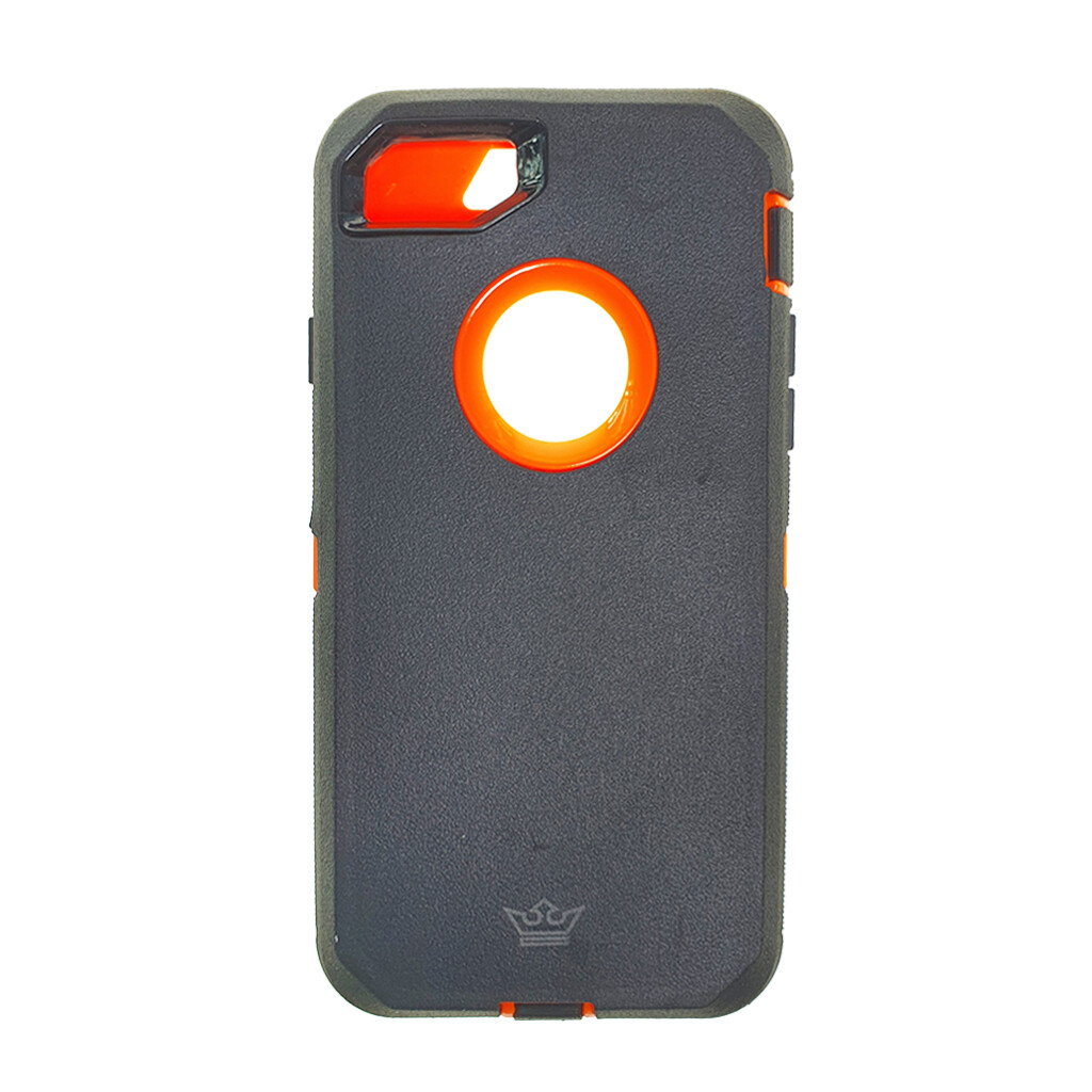Estuche EL REY Defender Gris / Naranja IPHONE 7 | 8 PLUS
