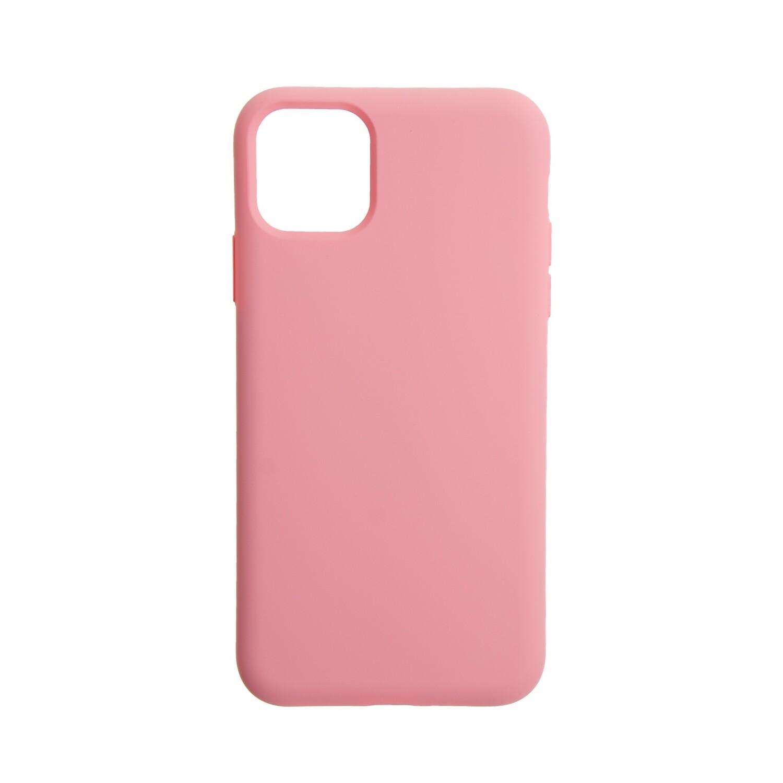 Estuche EL REY Silicon  Rosado  Iphone 11 Pro Max