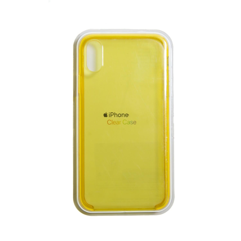 Estuche APPLE Transparente Amarillo IPHONE XS MAX (6.5)