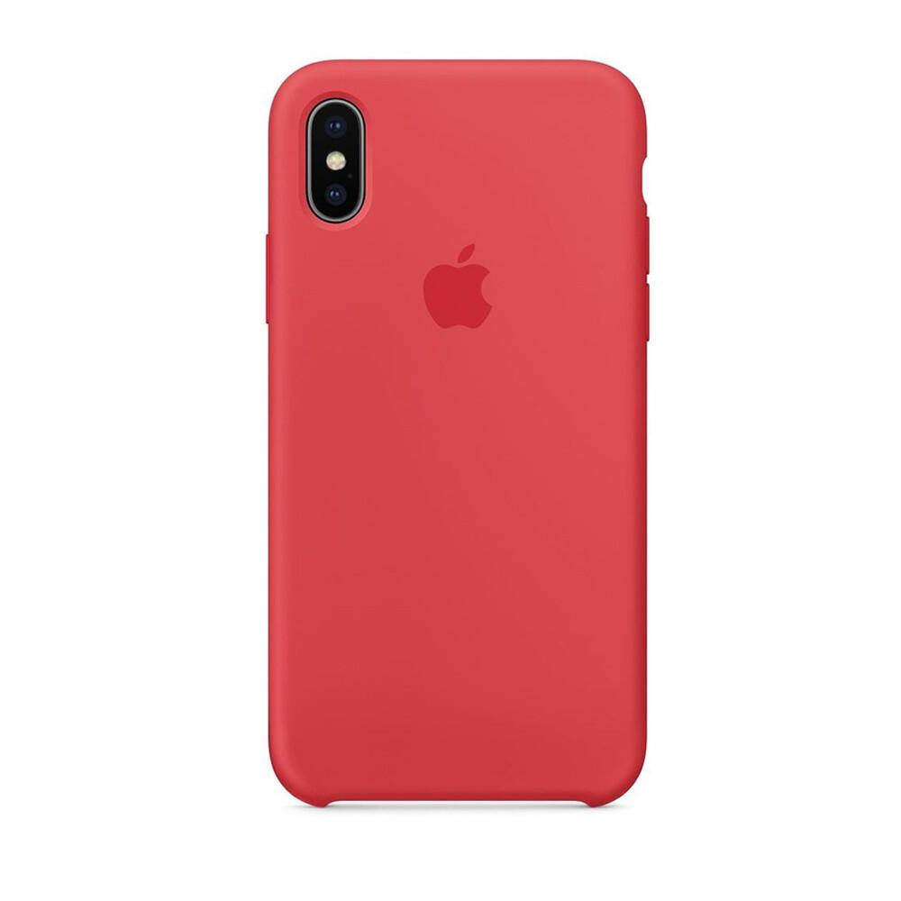 Estuche APPLE Original (Raspberry) IPHONE X ROJO