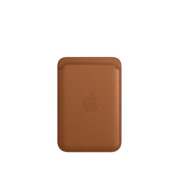 APPLE Wallet de cuero com MagSafe - CAFE